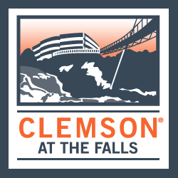 Clemson at the Falls logo